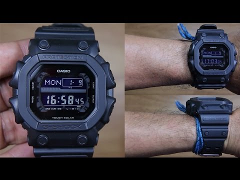 CASIO G-SHOCK GX-56BB-1 SPECIAL BLACK - UNBOXING