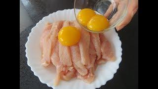 Просто залейте яйцами куриную грудку / Быстро, вкусно и очень нежно / Рецепты Другой Кухни