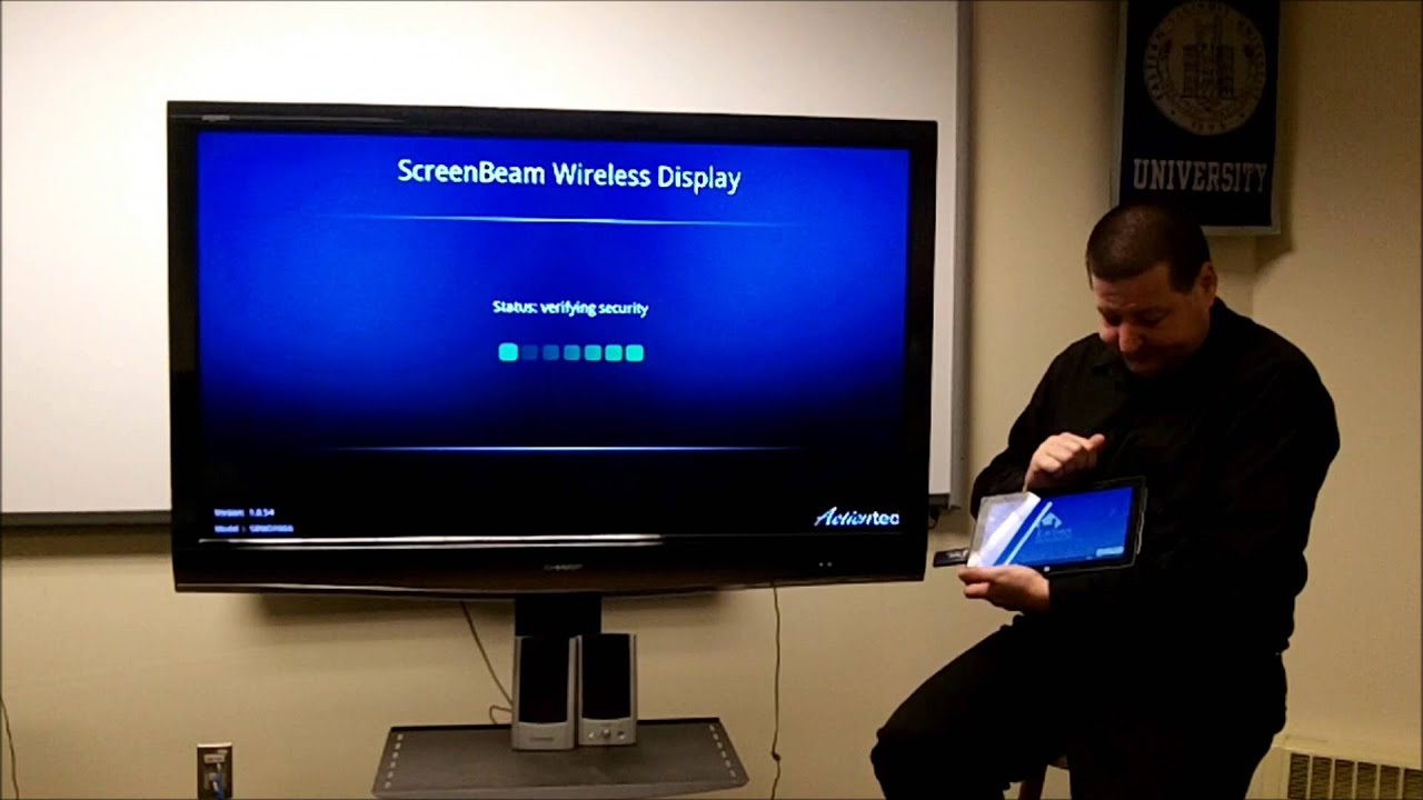 Itcts 015 Wirelessly Mirror Display From The Surface Pro