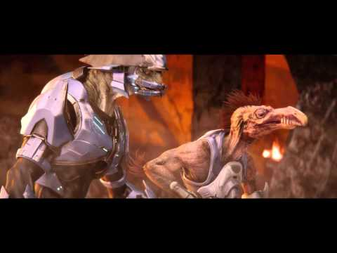 "Halo 2: Anniversary ""Day At The Beach"" Remastered Cinematic Cutscene"