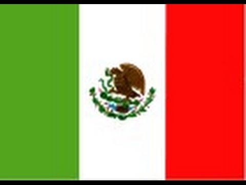 How to draw the Mexican Flag - YouTube