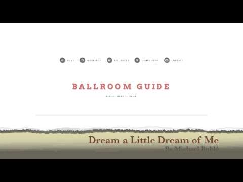 Foxtrot Music: Dream a Little Dream of Me by Michael Bublé