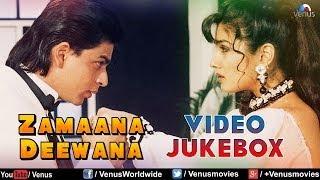 """Zamaana Deewana"" Video Jukebox   Shahrukh Khan, Raveena Tandon  "