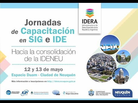 Jornada de Capacitación en SIG e IDE - Día 2 - Mañana
