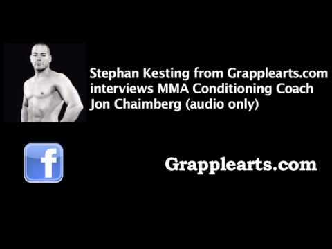Jon Chaimberg on Conditioning for MMA (audio only)
