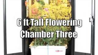 Hydroponics System Grow Box TRINITY Cabinet