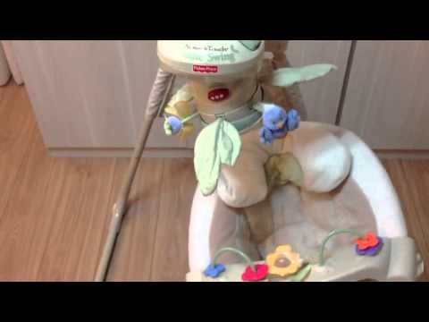 Nature's Touch Cradle Swing - Fisher-Price