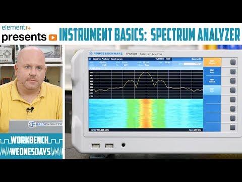 Instrument Basics : Spectrum Analyzer - Workbench Wednesdays