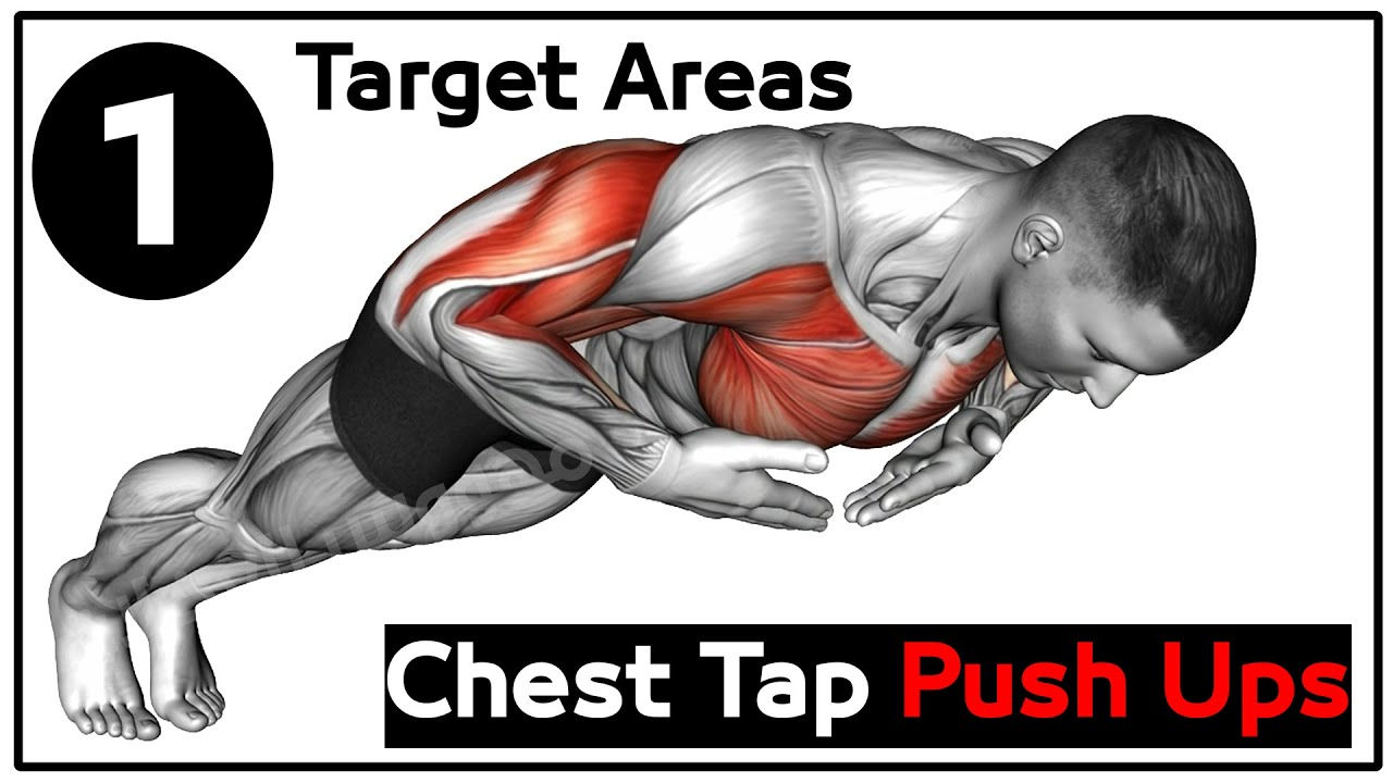 Chest Tap Push up