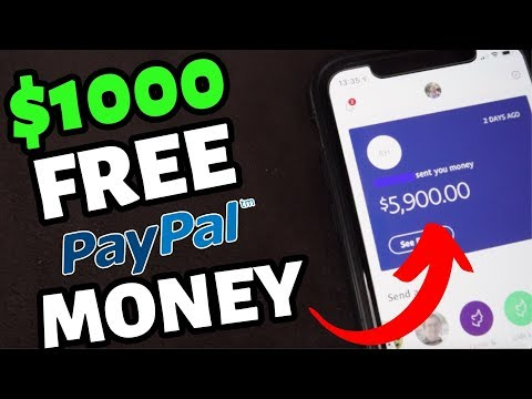 Earn $1000 Of FREE PayPal Money From Your Computer Or Phone   Make Money Online