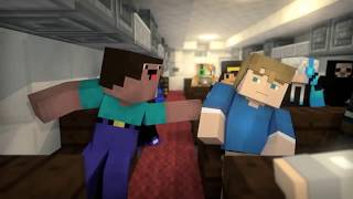 Zombie vs Villager Life 3 - Alien Being Minecraft Animation 2 3 4 5 6 7