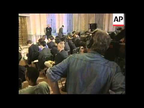 USA: ROBERT RUBIN ECONOMIC GROWTH PRESS CONFERENCE