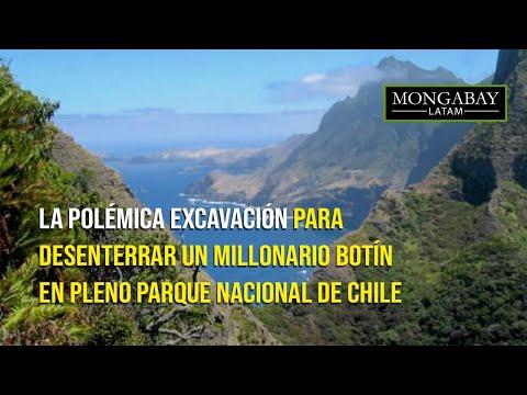 Cazatesoros en Chile: la polémica excavación para desenterrar un millonario botín en parque nacional