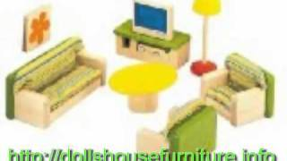Wooden Dolls Houses And Furniture