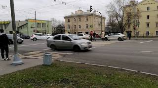 Смотреть видео Дтп на Говорова 13.11.2019. Санкт-Петербург онлайн