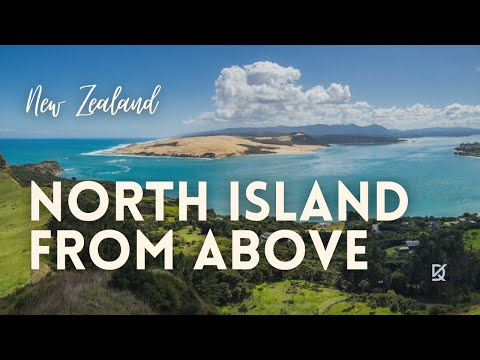 New Zealand - North Island by drone