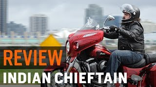 Indian Chieftain Elite Review at RevZilla.com