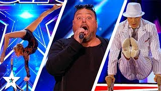 America's Got Talent 2017 Week 5 Auditions | Carlos De Antonis, Johnny Manuel & More!!