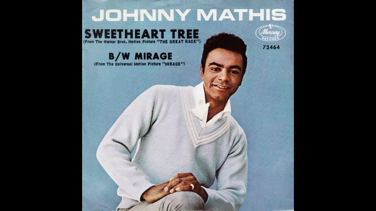"Johnny Mathis – ""Sweetheart Tree"" (Mercury) 1965 - YouTube"