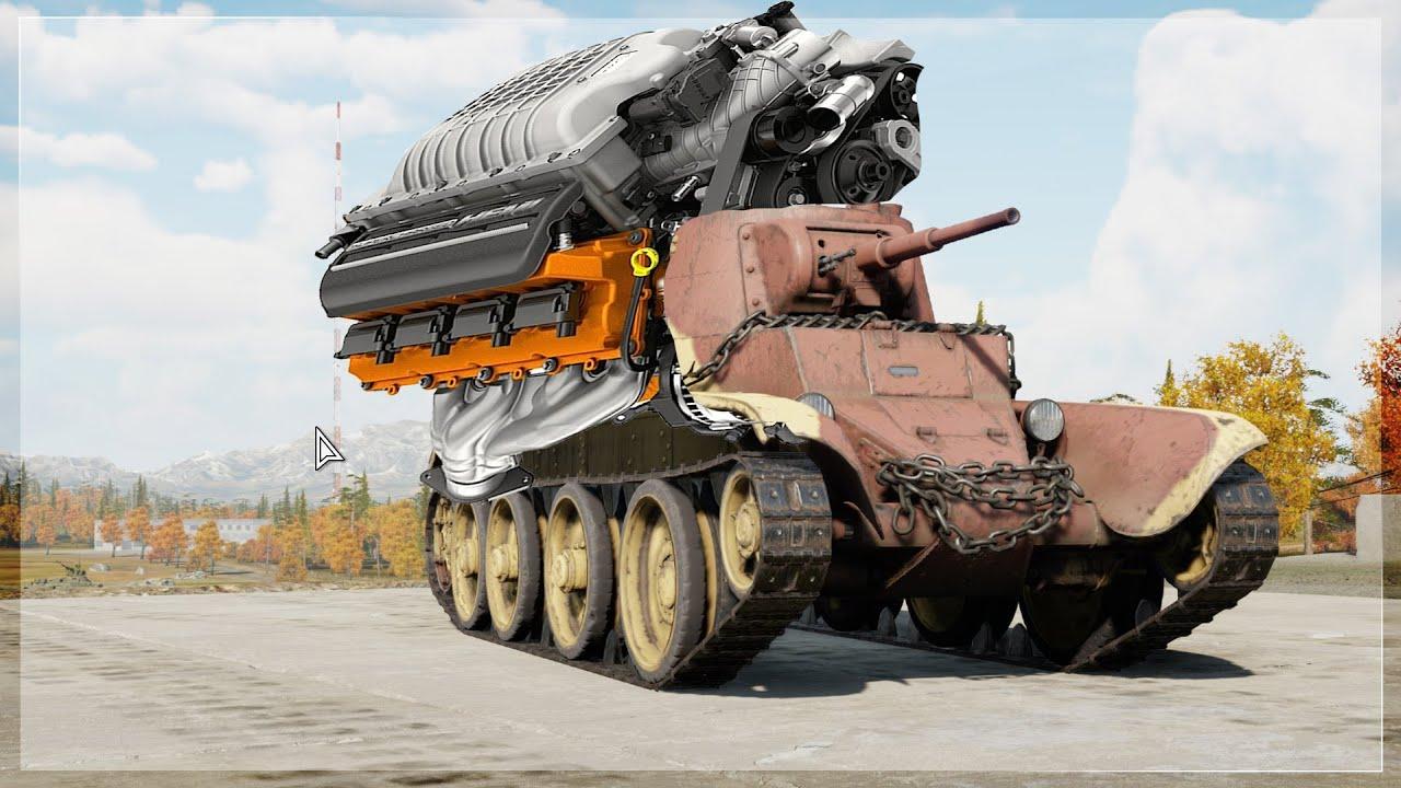 Download BT-7 ENGINE SWAP TO T-34 500 HP | BT-7 BLYATHAWK 😂🤣🚀