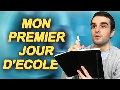 MON PREMIER JOUR D'ÉCOLE ! SciVlog #2