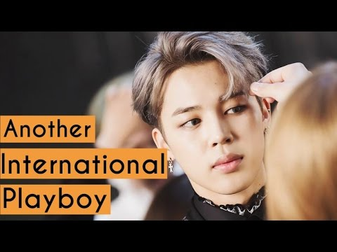 Another International Playboy of BTS, PARK JIMIN! 🔥🔥🔥 (re-upload)