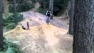 Epic fail on bike