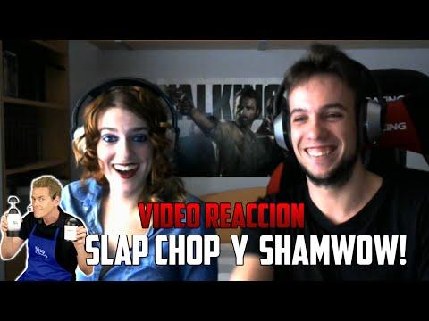 SLAP CHOP Y SHAMWOW! | YUGO Y YAIMA VÍDEO REACCIÓN