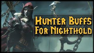 Hunters Getting Buffed Before Nighthold!
