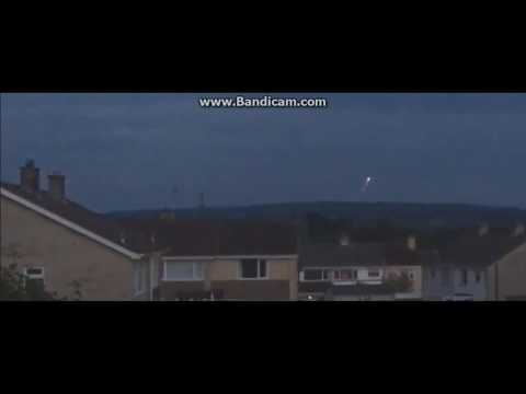 UFO spotted hovering over  Warminster, Wiltshire, England