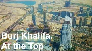Burj Khalifa in Dubai - At the Top - 125th Floor Lounge