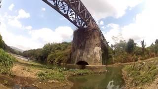 Bandara Wirasaba dan Peninggalan Jembatan Kereta Api Kali Serayu Wirasaba - Klampok