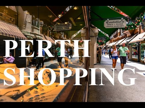 Best Perth Shopping Paradise - Hay Street Shopping Precinct