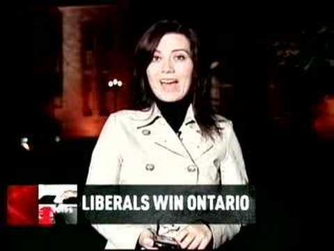Provincial Liberals win Ontario