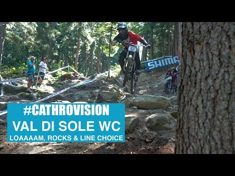 #CathroVision // Val Di Sole Day 2 - LOAAAAM, rocks and line choice.