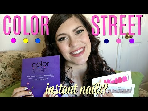 COLOR STREET! Instant nail polish? Demo & Honest Review! - J