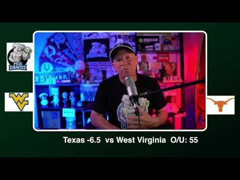 Texas vs West Virginia Free College Football Picks and Predictions CFB Tips Saturday 11/7/20