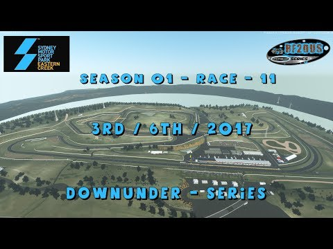 Downunder-Series - Season 1 - Race 11  – Sydney Motor Sport