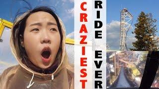 FUJIKYU HIGHLAND VLOG: CRAZIEST RIDE EVER! 富士急ハイランド
