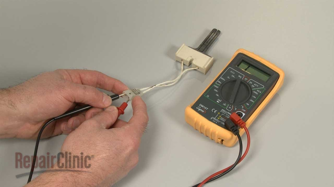 Furnace Not Igniting or Heating? Igniter Testing, Repair - YouTube on