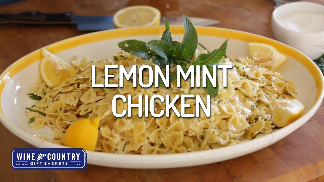 From Larry's Kitchen - Lemon Mint Chicken Pasta - YouTube