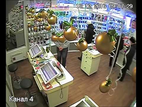 """Ограбление салона сотовой связи """"Связной"""" в Челябинске"""