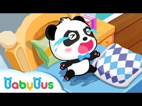Lagu Video Bayi Panda Ngompol Di Kasur | Kartun Anak | Bahasa Indonesia | Babybus Terbaru