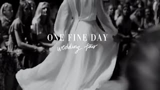 All the wedding planning fun at the One Fine Day Wedding Fair