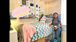 College Move In Day and Dorm Room Tour AAMU