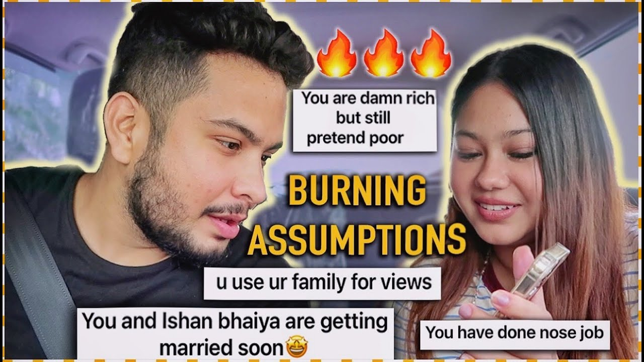 Boyfriend Roasts 🔥 Hate Comments & Assumptions! #CarVlog | ThatQuirkyMiss