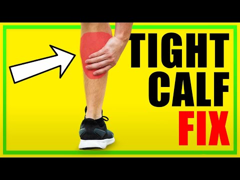 If You Get Tight Calves After Running WATCH THIS...