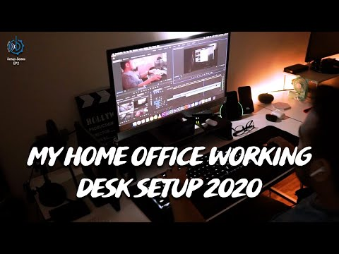 My Home Studio Working Desk Setup 2020 | Tech n Trend EP2