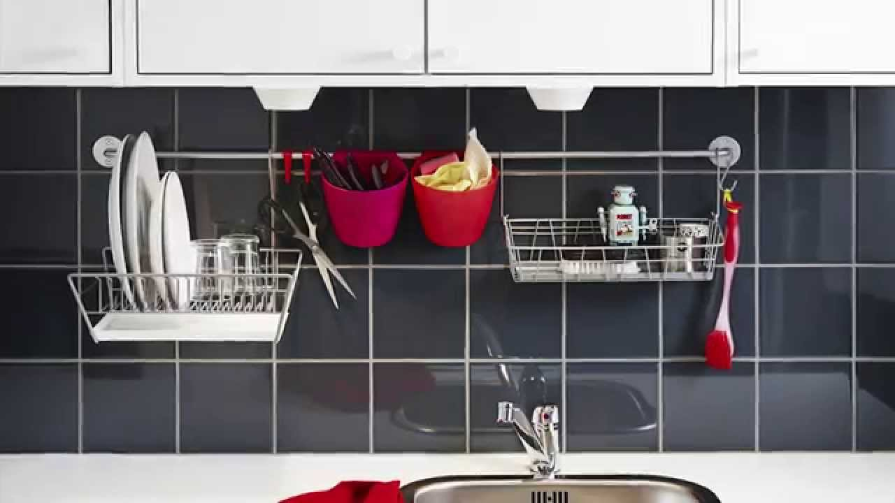 kitchen rail system cabinet sales ikea home tour youtube