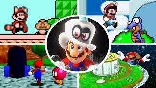 Evolution of First Levels in Mario Games (1985 - 2018)